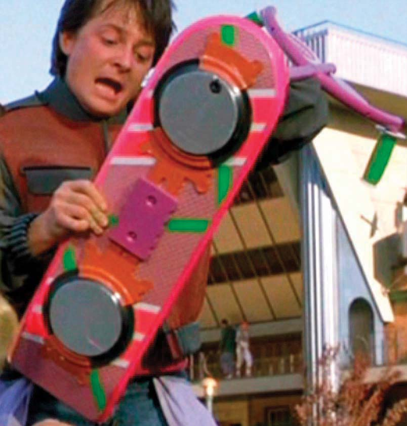 Back To the Future II Hoverboard. Coming to Kobestarr.com First!