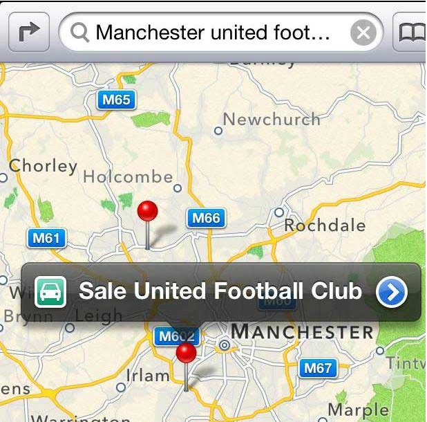 Sale United Football Club - Kobestarr.com