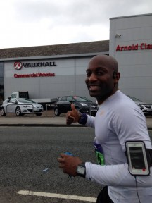 Kobestarr Gets to the End of Manchester Marathon 2014
