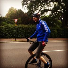 The Regents Park Unicyclist